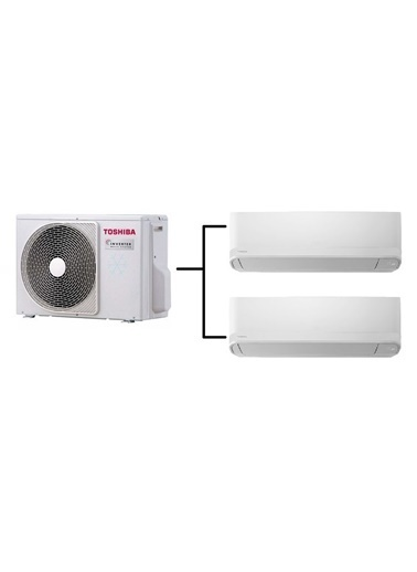 Toshiba Toshiba Multi-Split Klima (13.000 BTU-13.000 BTU) Renkli